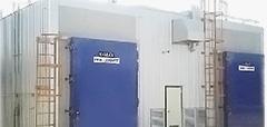High temperature vacuum wood dryer